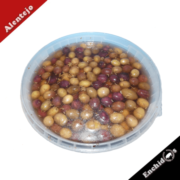 Azeitonas Balde de 5kg com oregãos